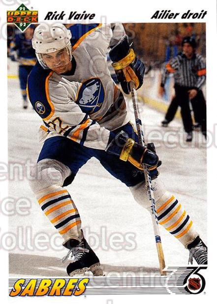 1991-92 Upper Deck French #179 Rick Vaive<br/>13 In Stock - $1.00 each - <a href=https://centericecollectibles.foxycart.com/cart?name=1991-92%20Upper%20Deck%20French%20%23179%20Rick%20Vaive...&quantity_max=13&price=$1.00&code=261798 class=foxycart> Buy it now! </a>