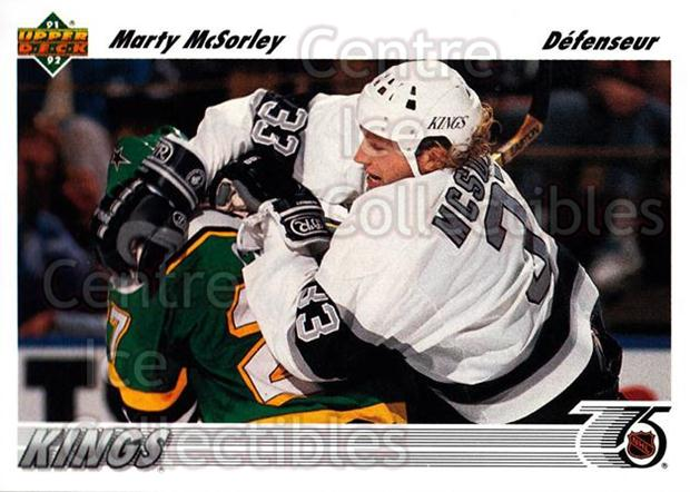 1991-92 Upper Deck French #199 Marty McSorley<br/>14 In Stock - $1.00 each - <a href=https://centericecollectibles.foxycart.com/cart?name=1991-92%20Upper%20Deck%20French%20%23199%20Marty%20McSorley...&quantity_max=14&price=$1.00&code=261818 class=foxycart> Buy it now! </a>