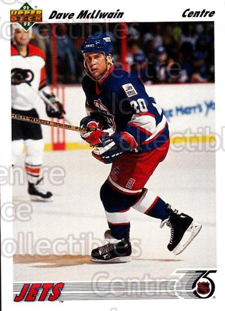 1991-92 Upper Deck French #222 Dave McLlwain<br/>12 In Stock - $1.00 each - <a href=https://centericecollectibles.foxycart.com/cart?name=1991-92%20Upper%20Deck%20French%20%23222%20Dave%20McLlwain...&quantity_max=12&price=$1.00&code=261841 class=foxycart> Buy it now! </a>