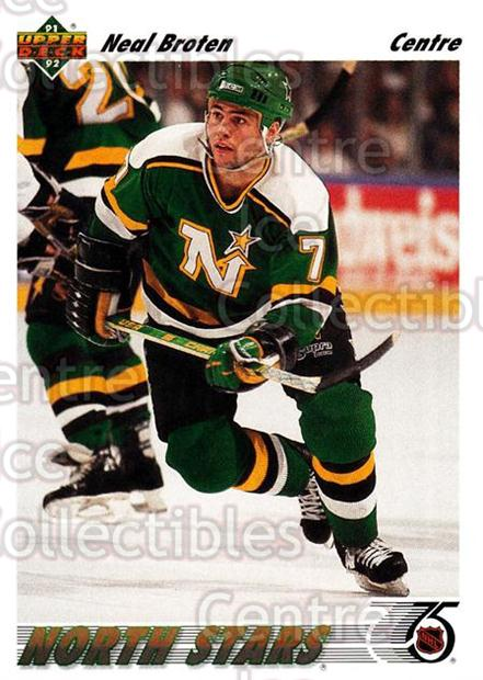 1991-92 Upper Deck French #232 Neal Broten<br/>13 In Stock - $1.00 each - <a href=https://centericecollectibles.foxycart.com/cart?name=1991-92%20Upper%20Deck%20French%20%23232%20Neal%20Broten...&quantity_max=13&price=$1.00&code=261851 class=foxycart> Buy it now! </a>