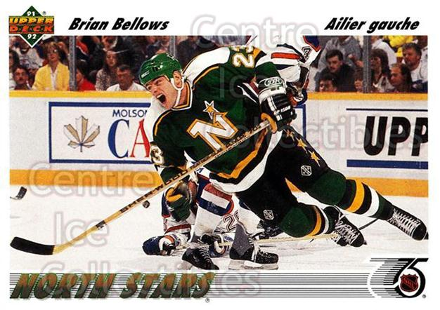 1991-92 Upper Deck French #236 Brian Bellows<br/>14 In Stock - $1.00 each - <a href=https://centericecollectibles.foxycart.com/cart?name=1991-92%20Upper%20Deck%20French%20%23236%20Brian%20Bellows...&quantity_max=14&price=$1.00&code=261855 class=foxycart> Buy it now! </a>