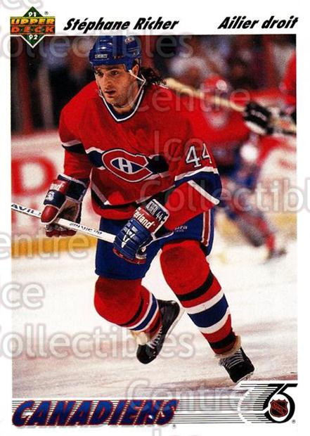1991-92 Upper Deck French #244 Stephane Richer<br/>12 In Stock - $1.00 each - <a href=https://centericecollectibles.foxycart.com/cart?name=1991-92%20Upper%20Deck%20French%20%23244%20Stephane%20Richer...&quantity_max=12&price=$1.00&code=261863 class=foxycart> Buy it now! </a>