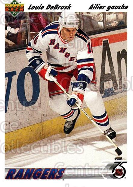 1991-92 Upper Deck French #249 Louie DeBrusk<br/>12 In Stock - $1.00 each - <a href=https://centericecollectibles.foxycart.com/cart?name=1991-92%20Upper%20Deck%20French%20%23249%20Louie%20DeBrusk...&quantity_max=12&price=$1.00&code=261868 class=foxycart> Buy it now! </a>