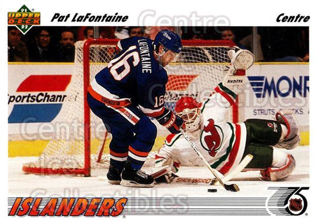 1991-92 Upper Deck French #253 Pat LaFontaine<br/>14 In Stock - $1.00 each - <a href=https://centericecollectibles.foxycart.com/cart?name=1991-92%20Upper%20Deck%20French%20%23253%20Pat%20LaFontaine...&quantity_max=14&price=$1.00&code=261872 class=foxycart> Buy it now! </a>