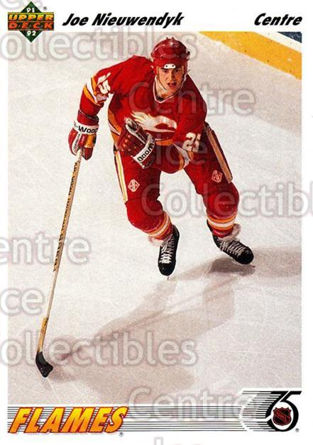 1991-92 Upper Deck French #263 Joe Nieuwendyk<br/>14 In Stock - $1.00 each - <a href=https://centericecollectibles.foxycart.com/cart?name=1991-92%20Upper%20Deck%20French%20%23263%20Joe%20Nieuwendyk...&quantity_max=14&price=$1.00&code=261882 class=foxycart> Buy it now! </a>