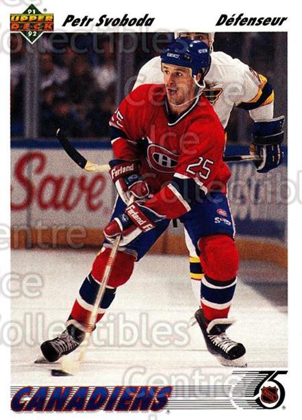 1991-92 Upper Deck French #285 Petr Svoboda<br/>14 In Stock - $1.00 each - <a href=https://centericecollectibles.foxycart.com/cart?name=1991-92%20Upper%20Deck%20French%20%23285%20Petr%20Svoboda...&quantity_max=14&price=$1.00&code=261904 class=foxycart> Buy it now! </a>