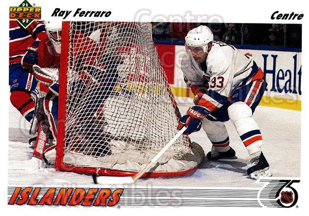 1991-92 Upper Deck French #311 Ray Ferraro<br/>13 In Stock - $1.00 each - <a href=https://centericecollectibles.foxycart.com/cart?name=1991-92%20Upper%20Deck%20French%20%23311%20Ray%20Ferraro...&quantity_max=13&price=$1.00&code=261930 class=foxycart> Buy it now! </a>