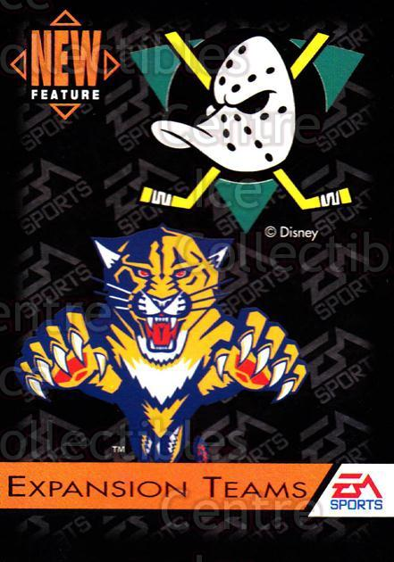 1994 EA Sports #199 Florida Panthers, Anaheim Mighty Ducks<br/>5 In Stock - $1.00 each - <a href=https://centericecollectibles.foxycart.com/cart?name=1994%20EA%20Sports%20%23199%20Florida%20Panther...&quantity_max=5&price=$1.00&code=2620 class=foxycart> Buy it now! </a>