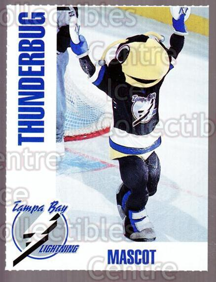 1992-93 Tampa Bay Lightning Sheraton Inn #25 Mascot<br/>1 In Stock - $3.00 each - <a href=https://centericecollectibles.foxycart.com/cart?name=1992-93%20Tampa%20Bay%20Lightning%20Sheraton%20Inn%20%2325%20Mascot...&quantity_max=1&price=$3.00&code=262344 class=foxycart> Buy it now! </a>