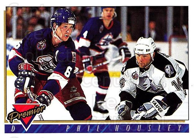 1993-94 OPC Premier #36 Phil Housley<br/>2 In Stock - $1.00 each - <a href=https://centericecollectibles.foxycart.com/cart?name=1993-94%20OPC%20Premier%20%2336%20Phil%20Housley...&quantity_max=2&price=$1.00&code=262383 class=foxycart> Buy it now! </a>