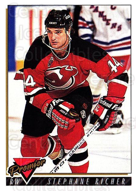 1993-94 OPC Premier #158 Stephane Richer<br/>1 In Stock - $1.00 each - <a href=https://centericecollectibles.foxycart.com/cart?name=1993-94%20OPC%20Premier%20%23158%20Stephane%20Richer...&quantity_max=1&price=$1.00&code=262505 class=foxycart> Buy it now! </a>