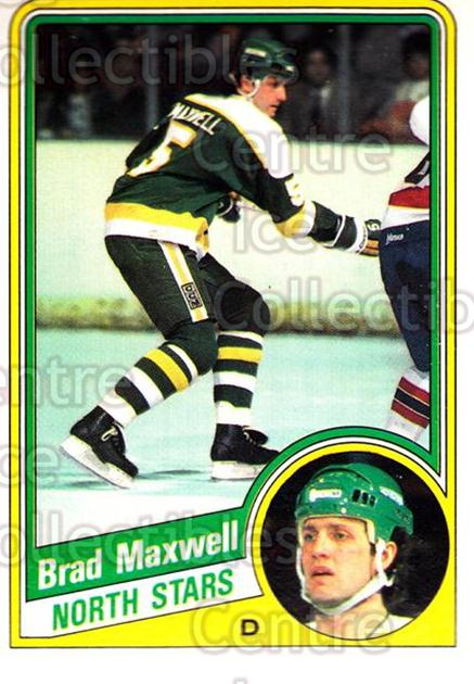 1984-85 O-Pee-Chee #102 Brad Maxwell<br/>9 In Stock - $1.00 each - <a href=https://centericecollectibles.foxycart.com/cart?name=1984-85%20O-Pee-Chee%20%23102%20Brad%20Maxwell...&quantity_max=9&price=$1.00&code=26254 class=foxycart> Buy it now! </a>