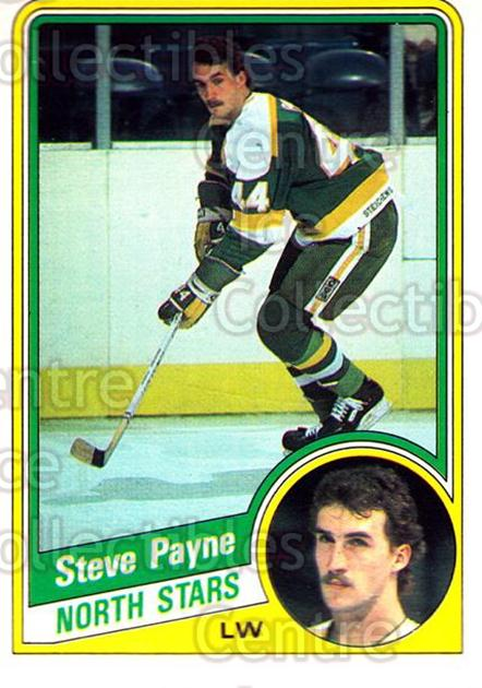 1984-85 O-Pee-Chee #106 Steve Payne<br/>8 In Stock - $1.00 each - <a href=https://centericecollectibles.foxycart.com/cart?name=1984-85%20O-Pee-Chee%20%23106%20Steve%20Payne...&quantity_max=8&price=$1.00&code=26258 class=foxycart> Buy it now! </a>