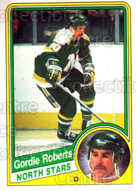 1984-85 O-Pee-Chee #107 Gordie Roberts<br/>9 In Stock - $1.00 each - <a href=https://centericecollectibles.foxycart.com/cart?name=1984-85%20O-Pee-Chee%20%23107%20Gordie%20Roberts...&quantity_max=9&price=$1.00&code=26259 class=foxycart> Buy it now! </a>