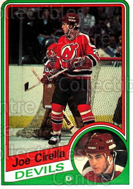 1984-85 O-Pee-Chee #110 Joe Cirella<br/>9 In Stock - $1.00 each - <a href=https://centericecollectibles.foxycart.com/cart?name=1984-85%20O-Pee-Chee%20%23110%20Joe%20Cirella...&quantity_max=9&price=$1.00&code=26263 class=foxycart> Buy it now! </a>