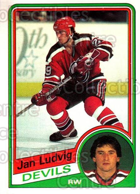 1984-85 O-Pee-Chee #116 Jan Ludvig<br/>6 In Stock - $1.00 each - <a href=https://centericecollectibles.foxycart.com/cart?name=1984-85%20O-Pee-Chee%20%23116%20Jan%20Ludvig...&quantity_max=6&price=$1.00&code=26268 class=foxycart> Buy it now! </a>