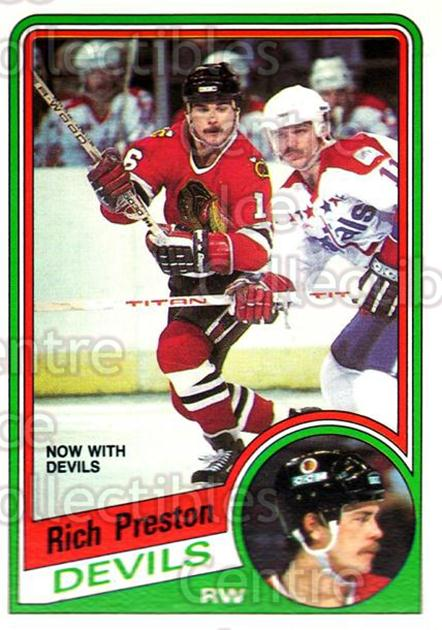 1984-85 O-Pee-Chee #118 Rich Preston<br/>8 In Stock - $1.00 each - <a href=https://centericecollectibles.foxycart.com/cart?name=1984-85%20O-Pee-Chee%20%23118%20Rich%20Preston...&quantity_max=8&price=$1.00&code=26270 class=foxycart> Buy it now! </a>