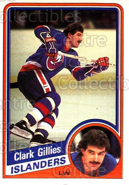 1984-85 O-Pee-Chee #126 Clark Gillies<br/>6 In Stock - $1.00 each - <a href=https://centericecollectibles.foxycart.com/cart?name=1984-85%20O-Pee-Chee%20%23126%20Clark%20Gillies...&quantity_max=6&price=$1.00&code=26278 class=foxycart> Buy it now! </a>