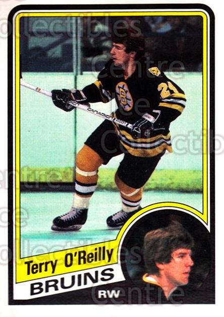 1984-85 O-Pee-Chee #13 Terry O'Reilly<br/>7 In Stock - $1.00 each - <a href=https://centericecollectibles.foxycart.com/cart?name=1984-85%20O-Pee-Chee%20%2313%20Terry%20O'Reilly...&quantity_max=7&price=$1.00&code=26281 class=foxycart> Buy it now! </a>
