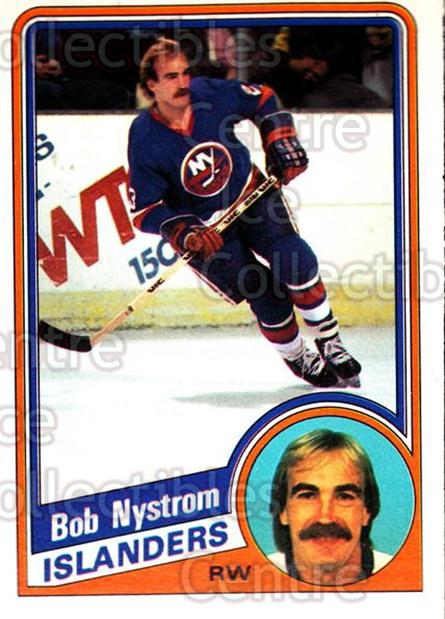 1984-85 O-Pee-Chee #132 Bob Nystrom<br/>6 In Stock - $1.00 each - <a href=https://centericecollectibles.foxycart.com/cart?name=1984-85%20O-Pee-Chee%20%23132%20Bob%20Nystrom...&quantity_max=6&price=$1.00&code=26284 class=foxycart> Buy it now! </a>
