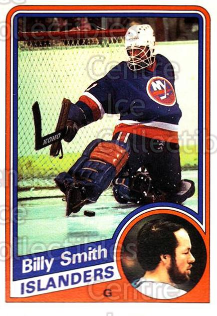 1984-85 O-Pee-Chee #135 Billy Smith<br/>5 In Stock - $2.00 each - <a href=https://centericecollectibles.foxycart.com/cart?name=1984-85%20O-Pee-Chee%20%23135%20Billy%20Smith...&quantity_max=5&price=$2.00&code=26287 class=foxycart> Buy it now! </a>