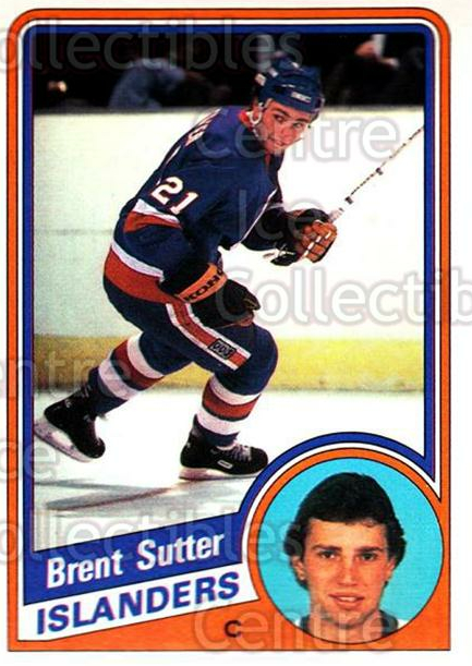 1984-85 O-Pee-Chee #136 Brent Sutter<br/>10 In Stock - $1.00 each - <a href=https://centericecollectibles.foxycart.com/cart?name=1984-85%20O-Pee-Chee%20%23136%20Brent%20Sutter...&quantity_max=10&price=$1.00&code=26288 class=foxycart> Buy it now! </a>