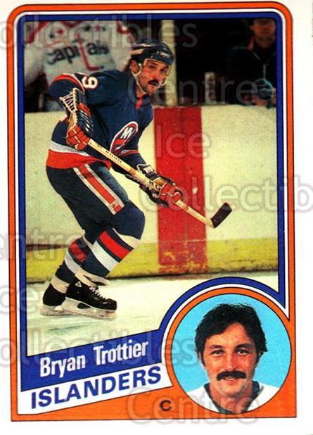 1984-85 O-Pee-Chee #139 Bryan Trottier<br/>9 In Stock - $2.00 each - <a href=https://centericecollectibles.foxycart.com/cart?name=1984-85%20O-Pee-Chee%20%23139%20Bryan%20Trottier...&quantity_max=9&price=$2.00&code=26291 class=foxycart> Buy it now! </a>