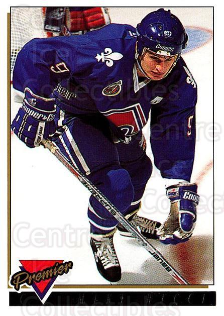 1993-94 OPC Premier Gold #62 Mike Ricci<br/>2 In Stock - $2.00 each - <a href=https://centericecollectibles.foxycart.com/cart?name=1993-94%20OPC%20Premier%20Gold%20%2362%20Mike%20Ricci...&quantity_max=2&price=$2.00&code=262937 class=foxycart> Buy it now! </a>
