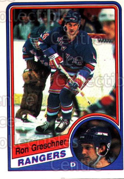 1984-85 O-Pee-Chee #141 Ron Greschner<br/>6 In Stock - $1.00 each - <a href=https://centericecollectibles.foxycart.com/cart?name=1984-85%20O-Pee-Chee%20%23141%20Ron%20Greschner...&quantity_max=6&price=$1.00&code=26294 class=foxycart> Buy it now! </a>