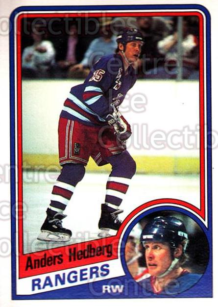 1984-85 O-Pee-Chee #143 Anders Hedberg<br/>6 In Stock - $1.00 each - <a href=https://centericecollectibles.foxycart.com/cart?name=1984-85%20O-Pee-Chee%20%23143%20Anders%20Hedberg...&quantity_max=6&price=$1.00&code=26296 class=foxycart> Buy it now! </a>