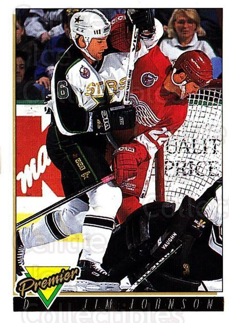 1993-94 OPC Premier Gold #98 Jim Johnson<br/>2 In Stock - $2.00 each - <a href=https://centericecollectibles.foxycart.com/cart?name=1993-94%20OPC%20Premier%20Gold%20%2398%20Jim%20Johnson...&quantity_max=2&price=$2.00&code=262973 class=foxycart> Buy it now! </a>