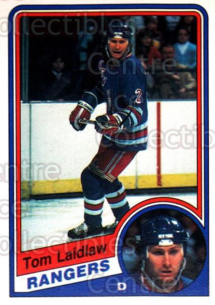 1984-85 O-Pee-Chee #144 Tom Laidlaw<br/>9 In Stock - $1.00 each - <a href=https://centericecollectibles.foxycart.com/cart?name=1984-85%20O-Pee-Chee%20%23144%20Tom%20Laidlaw...&quantity_max=9&price=$1.00&code=26297 class=foxycart> Buy it now! </a>