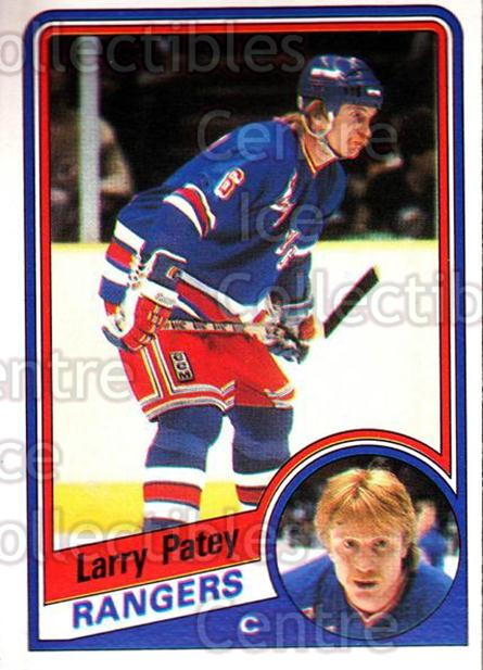 1984-85 O-Pee-Chee #149 Larry Patey<br/>11 In Stock - $1.00 each - <a href=https://centericecollectibles.foxycart.com/cart?name=1984-85%20O-Pee-Chee%20%23149%20Larry%20Patey...&quantity_max=11&price=$1.00&code=26302 class=foxycart> Buy it now! </a>