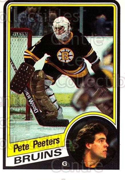 1984-85 O-Pee-Chee #15 Pete Peeters<br/>11 In Stock - $1.00 each - <a href=https://centericecollectibles.foxycart.com/cart?name=1984-85%20O-Pee-Chee%20%2315%20Pete%20Peeters...&quantity_max=11&price=$1.00&code=26303 class=foxycart> Buy it now! </a>