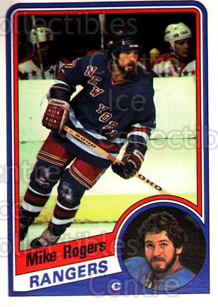 1984-85 O-Pee-Chee #152 Mike Rogers<br/>8 In Stock - $1.00 each - <a href=https://centericecollectibles.foxycart.com/cart?name=1984-85%20O-Pee-Chee%20%23152%20Mike%20Rogers...&quantity_max=8&price=$1.00&code=26305 class=foxycart> Buy it now! </a>