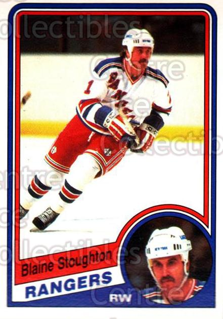1984-85 O-Pee-Chee #154 Blaine Stoughton<br/>8 In Stock - $1.00 each - <a href=https://centericecollectibles.foxycart.com/cart?name=1984-85%20O-Pee-Chee%20%23154%20Blaine%20Stoughto...&quantity_max=8&price=$1.00&code=26307 class=foxycart> Buy it now! </a>