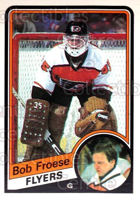 1984-85 O-Pee-Chee #159 Bob Froese<br/>6 In Stock - $1.00 each - <a href=https://centericecollectibles.foxycart.com/cart?name=1984-85%20O-Pee-Chee%20%23159%20Bob%20Froese...&quantity_max=6&price=$1.00&code=26310 class=foxycart> Buy it now! </a>