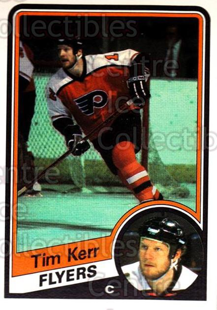 1984-85 O-Pee-Chee #162 Tim Kerr<br/>9 In Stock - $1.00 each - <a href=https://centericecollectibles.foxycart.com/cart?name=1984-85%20O-Pee-Chee%20%23162%20Tim%20Kerr...&quantity_max=9&price=$1.00&code=26314 class=foxycart> Buy it now! </a>