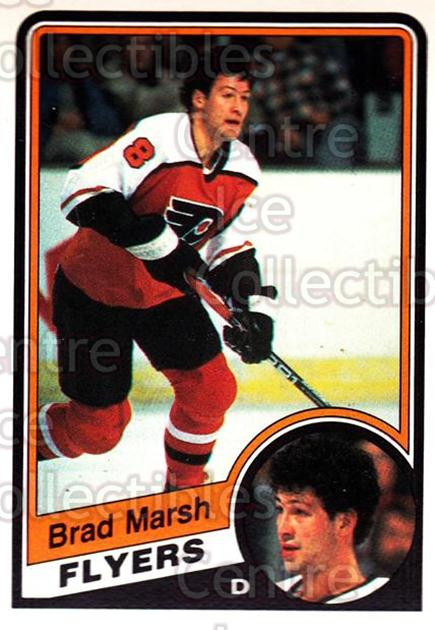 1984-85 O-Pee-Chee #163 Brad Marsh<br/>11 In Stock - $1.00 each - <a href=https://centericecollectibles.foxycart.com/cart?name=1984-85%20O-Pee-Chee%20%23163%20Brad%20Marsh...&quantity_max=11&price=$1.00&code=26315 class=foxycart> Buy it now! </a>