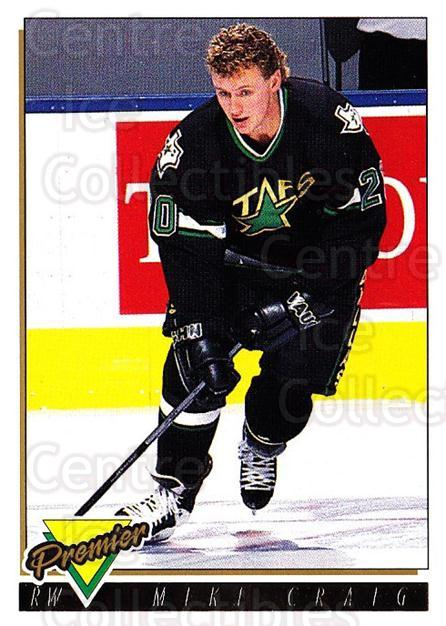 1993-94 OPC Premier Gold #309 Mike Craig<br/>1 In Stock - $2.00 each - <a href=https://centericecollectibles.foxycart.com/cart?name=1993-94%20OPC%20Premier%20Gold%20%23309%20Mike%20Craig...&quantity_max=1&price=$2.00&code=263184 class=foxycart> Buy it now! </a>