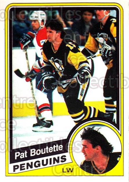 1984-85 O-Pee-Chee #171 Pat Boutette<br/>8 In Stock - $1.00 each - <a href=https://centericecollectibles.foxycart.com/cart?name=1984-85%20O-Pee-Chee%20%23171%20Pat%20Boutette...&quantity_max=8&price=$1.00&code=26320 class=foxycart> Buy it now! </a>