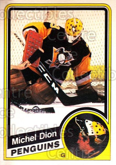 1984-85 O-Pee-Chee #173 Michel Dion<br/>3 In Stock - $1.00 each - <a href=https://centericecollectibles.foxycart.com/cart?name=1984-85%20O-Pee-Chee%20%23173%20Michel%20Dion...&quantity_max=3&price=$1.00&code=26322 class=foxycart> Buy it now! </a>