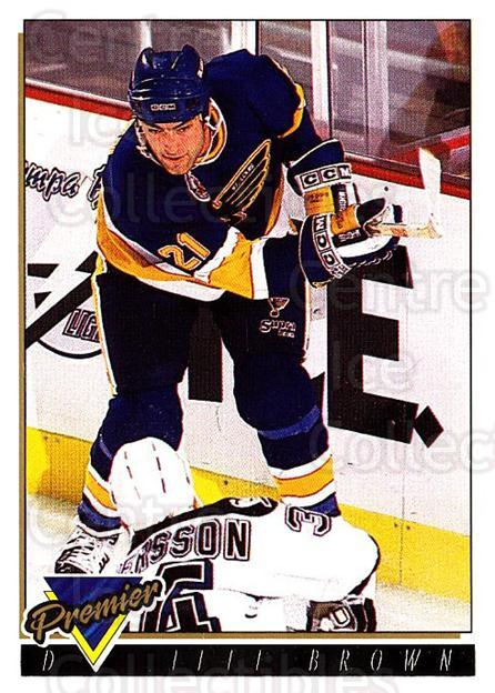 1993-94 OPC Premier Gold #363 Jeff Brown<br/>2 In Stock - $2.00 each - <a href=https://centericecollectibles.foxycart.com/cart?name=1993-94%20OPC%20Premier%20Gold%20%23363%20Jeff%20Brown...&quantity_max=2&price=$2.00&code=263238 class=foxycart> Buy it now! </a>