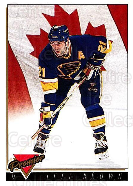 1993-94 OPC Premier Gold #381 Jeff Brown<br/>2 In Stock - $2.00 each - <a href=https://centericecollectibles.foxycart.com/cart?name=1993-94%20OPC%20Premier%20Gold%20%23381%20Jeff%20Brown...&quantity_max=2&price=$2.00&code=263256 class=foxycart> Buy it now! </a>