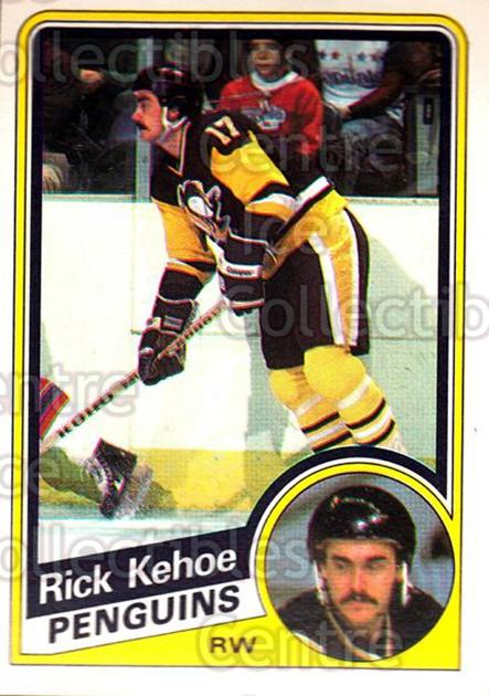 1984-85 O-Pee-Chee #177 Rick Kehoe<br/>6 In Stock - $1.00 each - <a href=https://centericecollectibles.foxycart.com/cart?name=1984-85%20O-Pee-Chee%20%23177%20Rick%20Kehoe...&quantity_max=6&price=$1.00&code=26326 class=foxycart> Buy it now! </a>