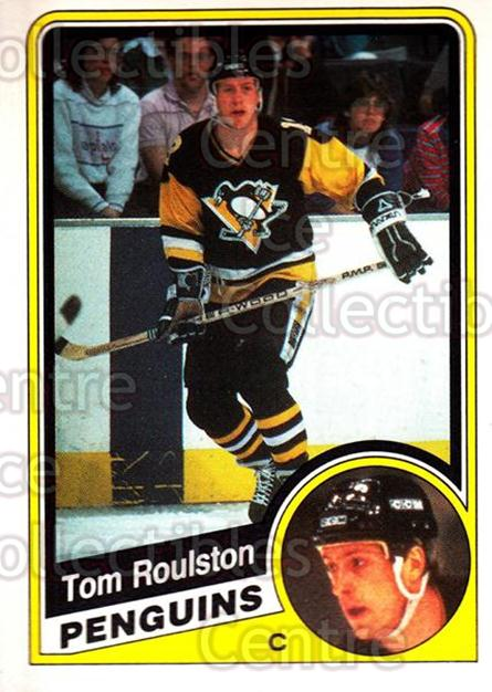 1984-85 O-Pee-Chee #179 Tom Roulston<br/>6 In Stock - $1.00 each - <a href=https://centericecollectibles.foxycart.com/cart?name=1984-85%20O-Pee-Chee%20%23179%20Tom%20Roulston...&quantity_max=6&price=$1.00&code=26328 class=foxycart> Buy it now! </a>