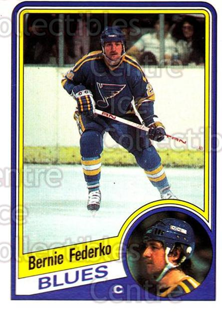 1984-85 O-Pee-Chee #184 Bernie Federko<br/>8 In Stock - $1.00 each - <a href=https://centericecollectibles.foxycart.com/cart?name=1984-85%20O-Pee-Chee%20%23184%20Bernie%20Federko...&quantity_max=8&price=$1.00&code=26333 class=foxycart> Buy it now! </a>
