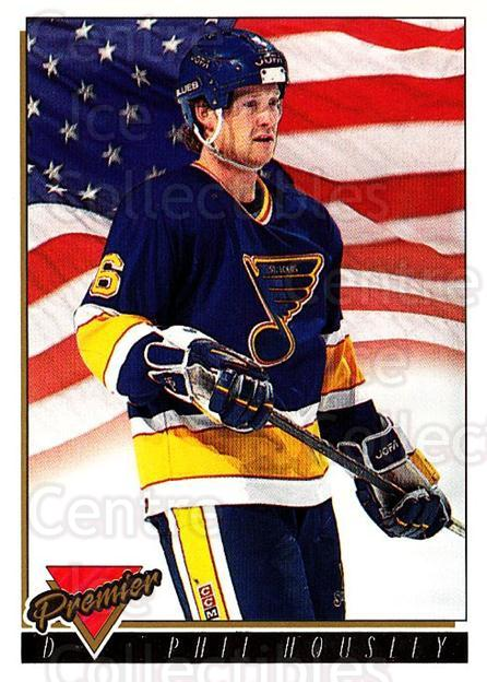 1993-94 OPC Premier Gold #503 Phil Housley<br/>2 In Stock - $2.00 each - <a href=https://centericecollectibles.foxycart.com/cart?name=1993-94%20OPC%20Premier%20Gold%20%23503%20Phil%20Housley...&quantity_max=2&price=$2.00&code=263378 class=foxycart> Buy it now! </a>