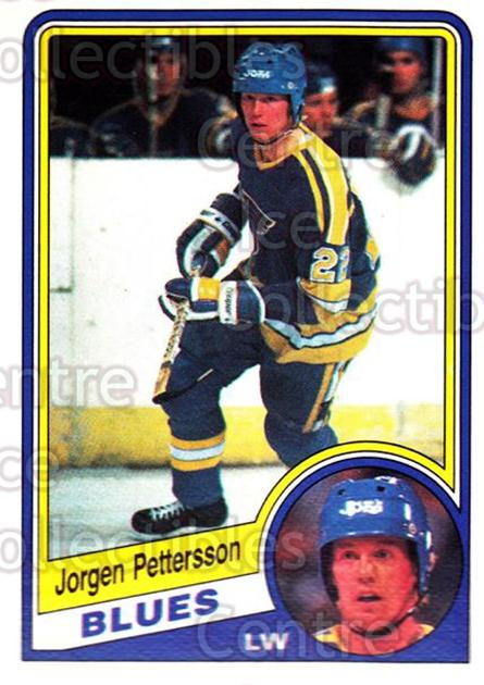 1984-85 O-Pee-Chee #189 Jorgen Pettersson<br/>7 In Stock - $1.00 each - <a href=https://centericecollectibles.foxycart.com/cart?name=1984-85%20O-Pee-Chee%20%23189%20Jorgen%20Petterss...&quantity_max=7&price=$1.00&code=26337 class=foxycart> Buy it now! </a>