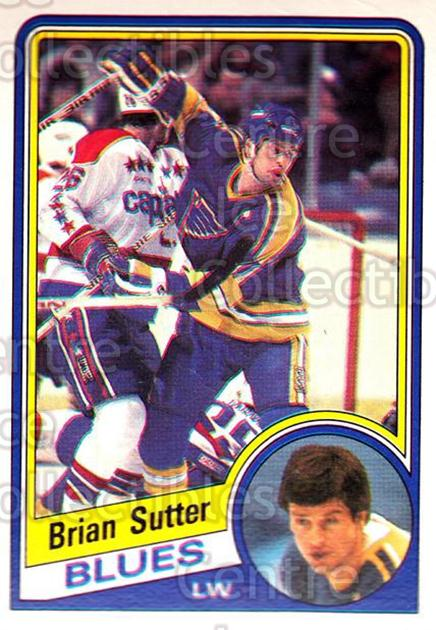 1984-85 O-Pee-Chee #192 Brian Sutter<br/>2 In Stock - $1.00 each - <a href=https://centericecollectibles.foxycart.com/cart?name=1984-85%20O-Pee-Chee%20%23192%20Brian%20Sutter...&quantity_max=2&price=$1.00&code=26341 class=foxycart> Buy it now! </a>